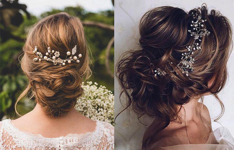 những kiểu tóc cô dâu đơn giản mà đẹp